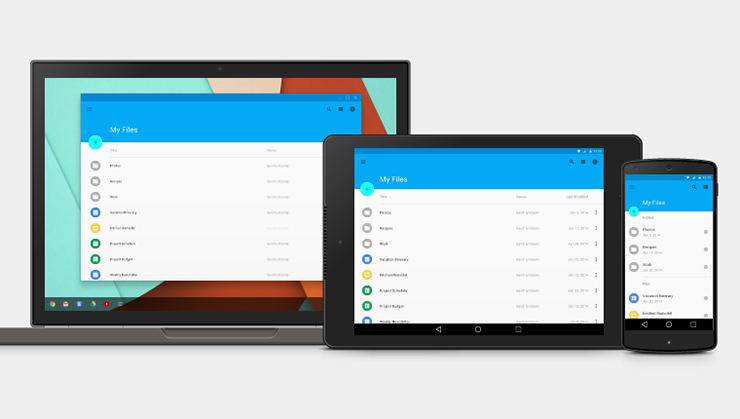 Top designers react to google s new material design for Picture window design layout