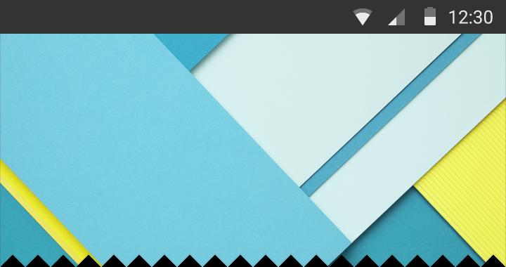 navigation drawer over status bar 3