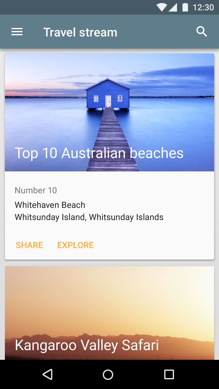 How to apply aspect ratio from material design specs on a view