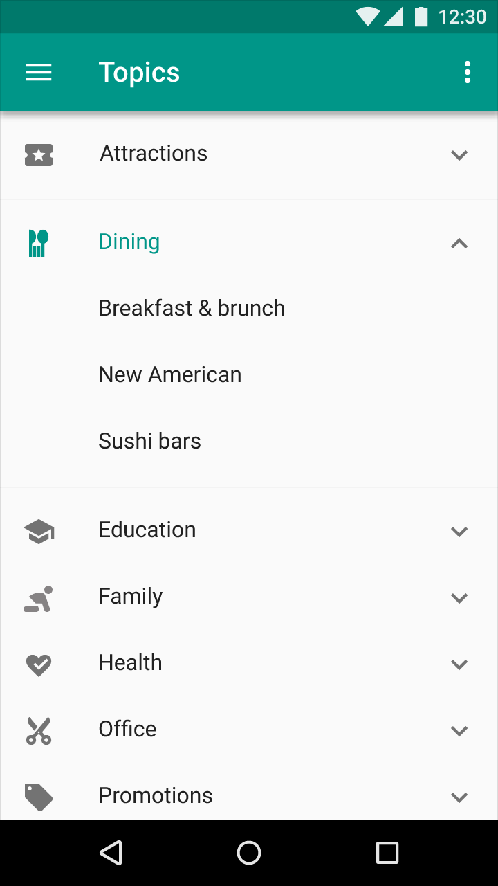 Speak Intelligently About Your App Anatomy (Material Design