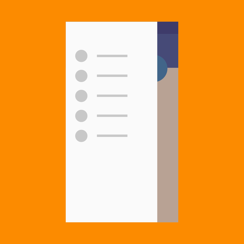Navigation Drawer Patterns Google Design Guidelines