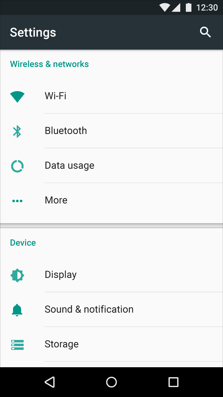 how to choose voice mail options on motorola